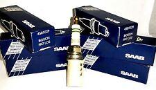 X6 GENUINE SAAB 9000 NG900 94-98  SPARK PLUGS 4501029 BOSCH FR7LDS
