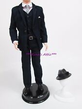 Silkstone Roger Sterling Ken Barbie Doll SUIT Fashion Outfit ~ Hat Suit Vest