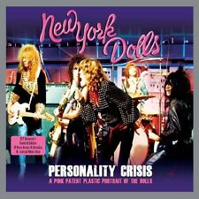 NEW YORK DOLLS - PERSONALITY CRISIS-2LP WHITE VINYL 2 VINYL LP NEU