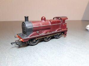 """Triang Hornby OO R251 """"Midlander"""" 3F 0-6-0 Tender Locomotive, MR Maroon livery"""