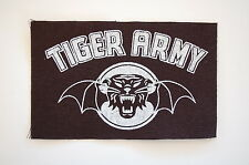 "Tiger Army Cloth Patch Sew On Badge Rock Psychobilly Approx. 5""X3"" (CP91)"