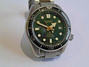 Seiko Green Recreation Prospex Ltd Ed SPB105J1 Auto Gents Watch c/w Box & Papers