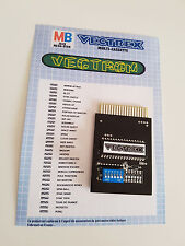 "cartridge / cartouche VECTREX / Multicart ""D""-  >>> 32in1 <<<"