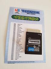 "cartridge / cartouche VECTREX / Multicart ""D""-  >>> 32in1 <<<"