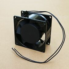 80mm AC 220V - 240V Aluminum Cooling Fan Computer 80 x 80 x 25mm