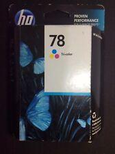 HP # 78 Tri Color  Deskjet 920 930 932 935 940 950 952 960 970 Sealed New.
