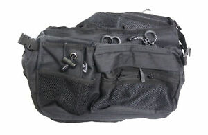 Evergreen Tackle Bag Hip and Shoulder Fishing Bag HD 2 Black (4445)