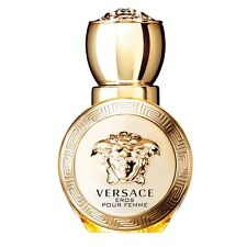Versace Eros Pour Femme Women Mini Bottle 0.17 OZ 5 ML Eau de Parfum Splash Nib