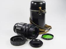 20 aperture blades Portrait TAIR-11A 2.8/135mm M42. s/n 845504. Zenit KMZ.