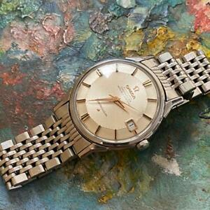 OMEGA CONSTELLATION PIE PAN DATE 168.005 VINTAGE WATCH 100% GENUINE 34MM 1966