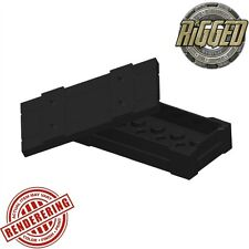 (3x) Brickforge Black Weapons Crate Accessory for Lego Minifigures and MOCs
