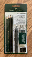 FABER-CASTELL USA Pitt Graphite Set Pencil Aquarelle Crayon Sketch Draw