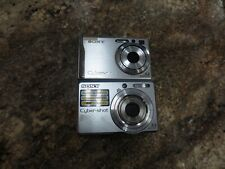 Sony Cybershot DSC-W80 & DSC-S730 7.2MP Digital Camera Cyber-shot  FREE SHIPPING