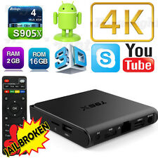 T95X 2+16G 4K Android Quad Core Smart TV Box HDMI Media Player Free Shipping
