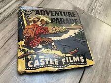 Rare Vintage 8mm Film Reel Castle Films Adventure Parade