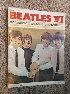 The Beatles VI 1965 songbook sheet music original