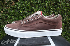 1926286e3c VANS VAULT OLD SKOOL LX SZ 9.5 AGHARTA PACK BROWN WHITE VN 0D4EIA3
