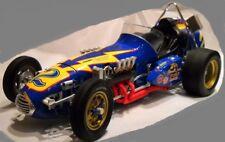 Race Car Ferrari GP F 1 12 Vintage 1969 Indy 24 500 64 Blue 18 43