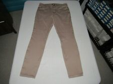 "NYDJ Women's Ami Skinny Legging Brown Denim Jeans Size 12 Waist 33"" Inseam 31"""