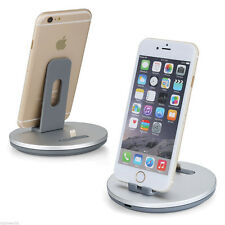 2in1 Aluminum Build Stand Charging Docking Station for iPhone 7 7 PLUS SE 5 6 6S
