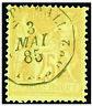 Timbres de France classique Sage n°92 Obl CAD Paquebot de ligne 2 Aspinwall