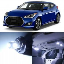 10 x White Interior LED Lights Package For 2012 - 2017 Hyundai Veloster +TOOL