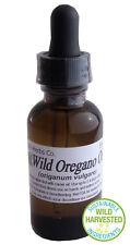 1oz WILD HARVESTED Oregano Essential Oil Origanum Vulgare Natural  6,000+ SOLD!!