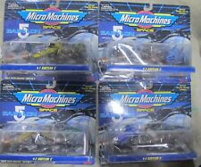 Original 1994 Galoob Babylon 5 Micro Machines sets 1-4 - Unopened Space Ships