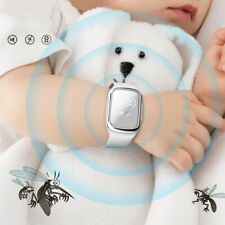Ultrasonic Mosquito Repelling Wrist Bracelet Children Band Insect Pest Repellent