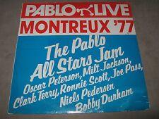 PABLO LIVE ALL STARS JAM Montreux 77 SEALED LP Milt Jackson Clark Terry Joe Pass