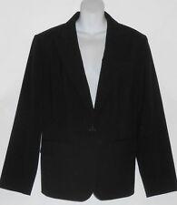 Jones New York Collection Woman Plus Size Suit Jacket Blazer Jet Black 18W NWT