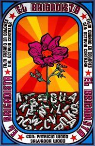8396.El brigadista.cuban film.flower blooming.POSTER.movie decor graphic art