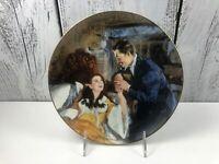 SCARLETT and RHETT'S HONEYMOON Gone with Wind Golden Anniversary Plate USA