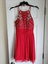 6288b9403c3 Xtraordinary Speechless Brand Junior Women Size 3 Red Party Prom Dress