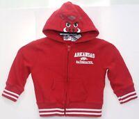 Arkansas Razorbacks Baby Hoodie Infant Sz 24 Months Hooded Sweatshirt MascotWear