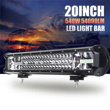 20 Inch 540W LED Travail Lampe Barre Flood Spot Combo Light Pour Offroad SUV 4WD