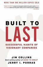 NEW - Built to Last: Successful Habits of Visionary Companies