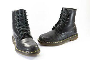 Genuine Dr. Martens 1460 Lace Up 8 Hole Leather Boots Shoes Doc Martins Sze US 6