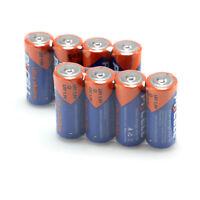Pkcell 8pcs LR1 N size 1.5V 910A MN9100 E90 UM-5 AM5 Alkaline Battery