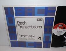 SLP 4278 Bach transcripciones Orquesta Filarmónica Checa Leopold Stokowski