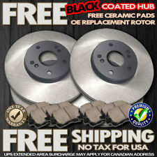 F+R S0893 2002 IMPREZA 2.0L WRX Cross Drilled Brake Rotors Ceramic Brake Pads