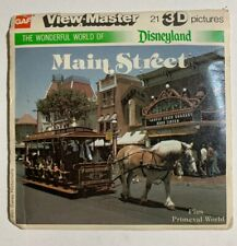 View-Master Disneyland MAIN STREET (K1) 3 Reel Set + Booklet