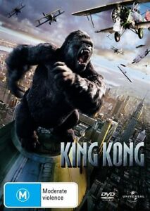 King Kong DVD REG 4 AUST - Action Adventure