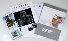 HASSELBLAD LITERATURE ON CB LENS, QUALITY AND H SYSTEM