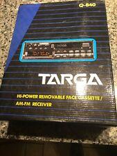 Targa Q-840 Cassette Car Reciver