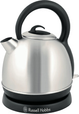 NEW Russell Hobbs RHK4W Eden Dome Kettle - Stainless Steel