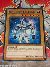 Carte YU GI OH NEOS, HEROS ELEMENTAIRE DL12-FR001 VERT