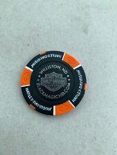 Harley Davidson Poker Chip Black Magic Williston ND