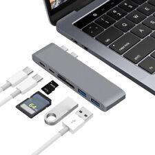 4K HDMI 6in1 Type C USB C Hub Adapter 3.0 ports Card Reader^,