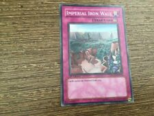 SDZW-EN032 Imperial Iron Wall 1st Edition Common YuGiOh Card